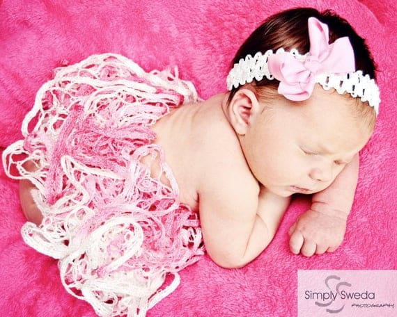 Cotton Candy Baby Tutu - knitbysarah