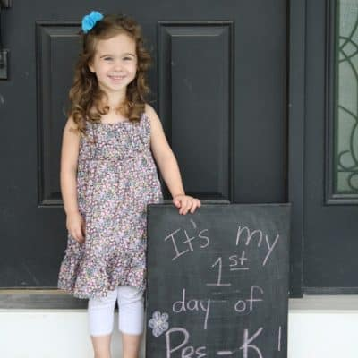 1st Day of Pre-K!