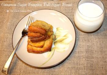 Cinnamon-Sugar Pumpkin Pull-Apart Bread