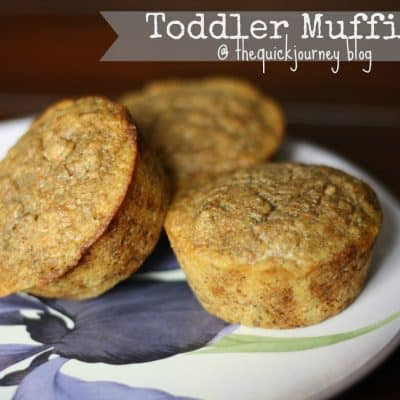 Toddler Muffins {Recipe}