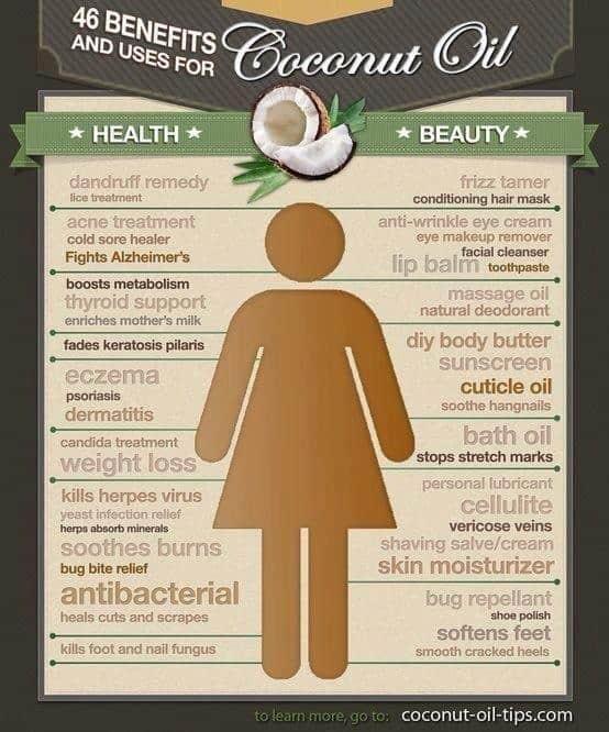 .coconut oil