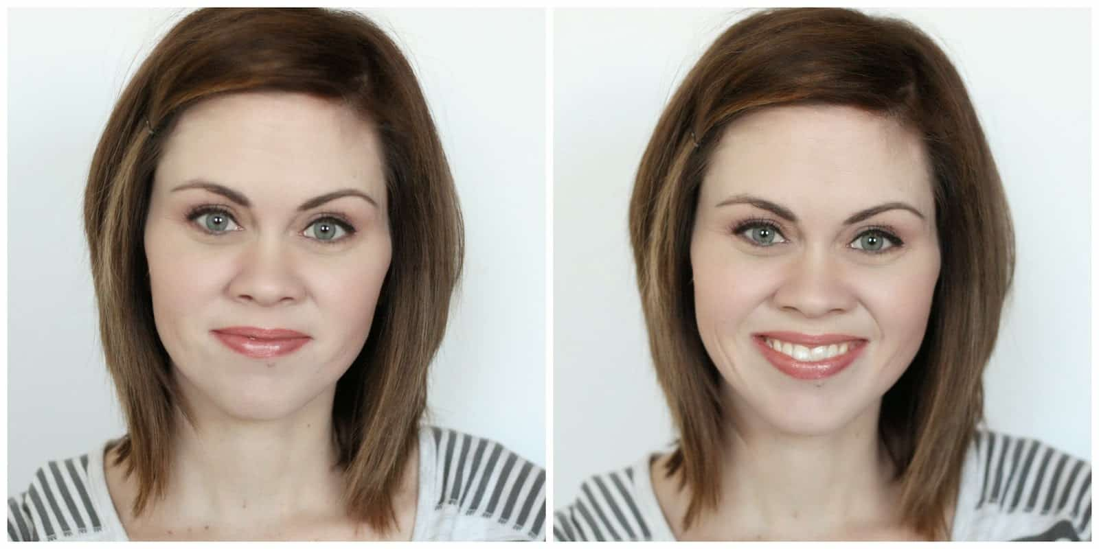 photos of a homemaker wearing natural makeup by root pretty