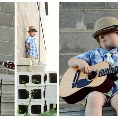Milestones // Liam's 4 Year Pictures