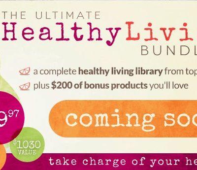 Healthy Living Bundle // Coming Soon