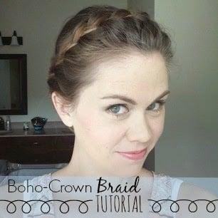 Boho-Crown Braid // Tutorial