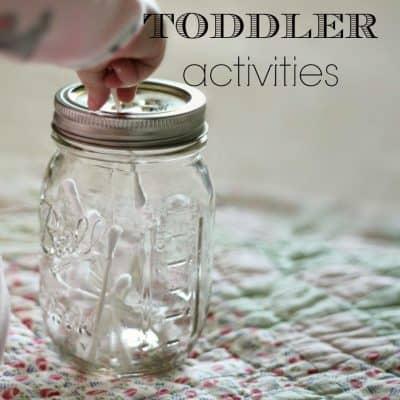 Homeschool // Toddler Activities