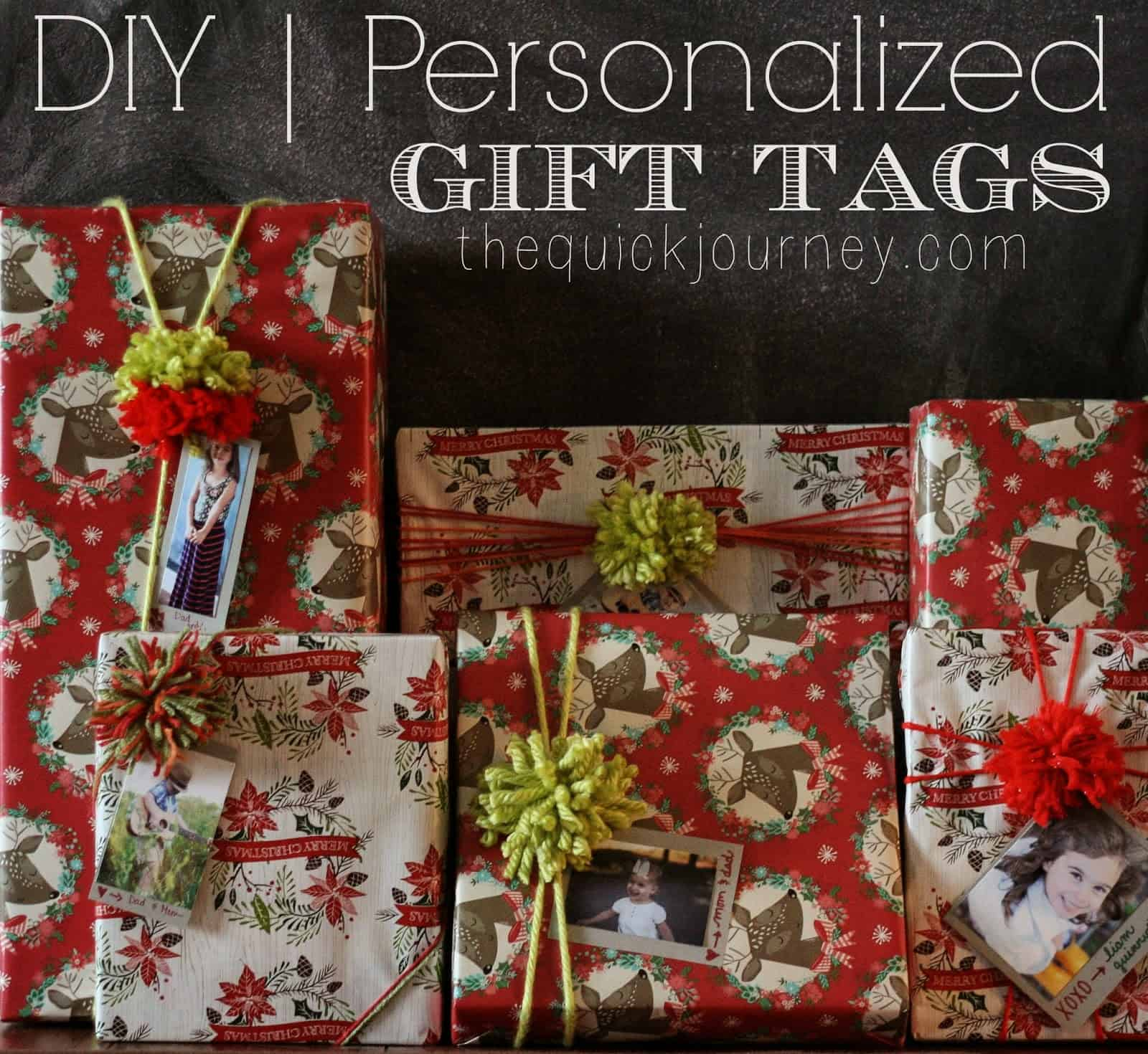 DIY | Personalized Gift Tags