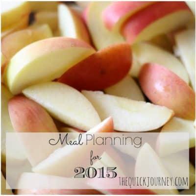 2015 | Meal Plan