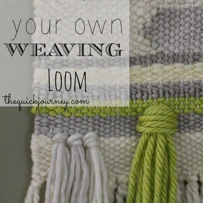 DIY | Weaving Loom