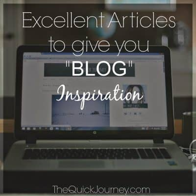 Weekend Links | For the Bloggers