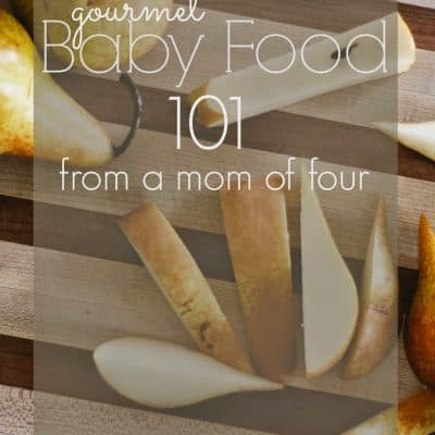 Recipe | Gourmet Baby Food
