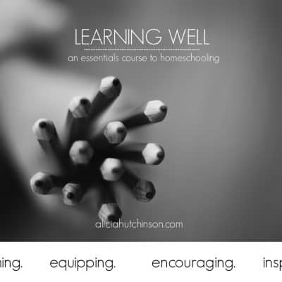 Homeschool | Learning Well Ecourse