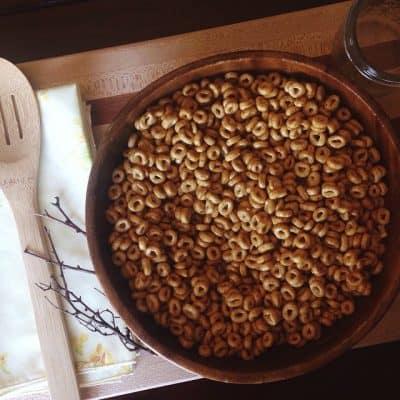 Recipe   Healthy Honey Cheerios