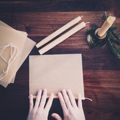 Home | Hand-rolled Beeswax Candles
