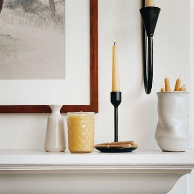 DIY | Beeswax Jar Candles