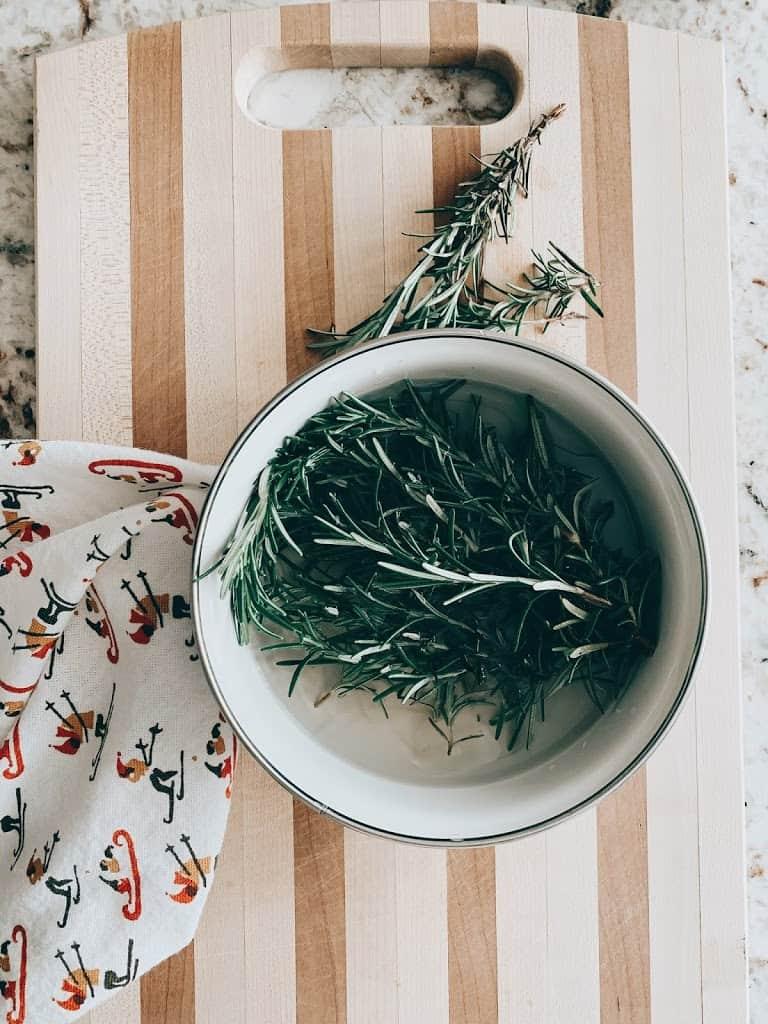 Homemaking | Rosemary Christmas DIY