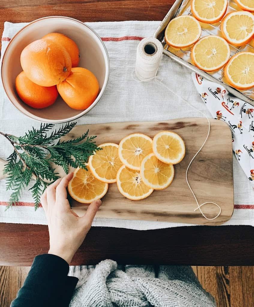 Homemaking Dried Orange Garland The Quick Journey