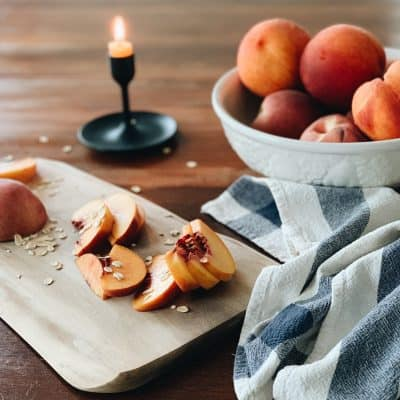 Recipe | August Peach Crisp