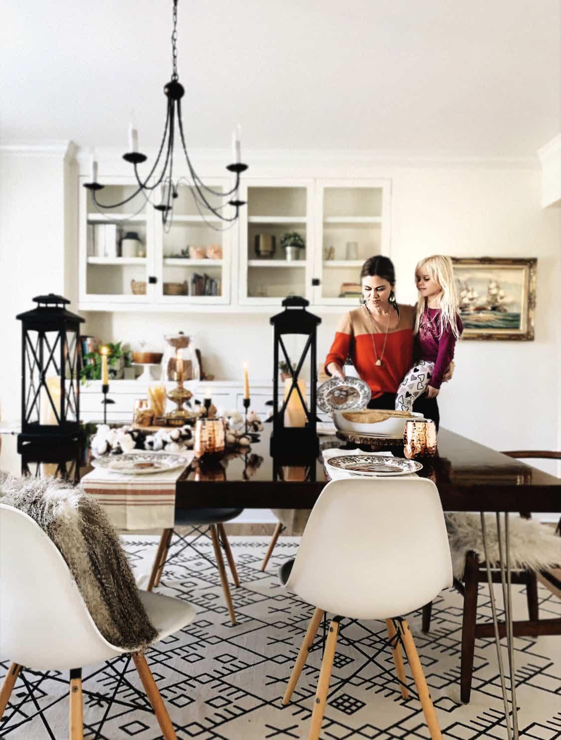 Home| Simple Autumn Tablescape