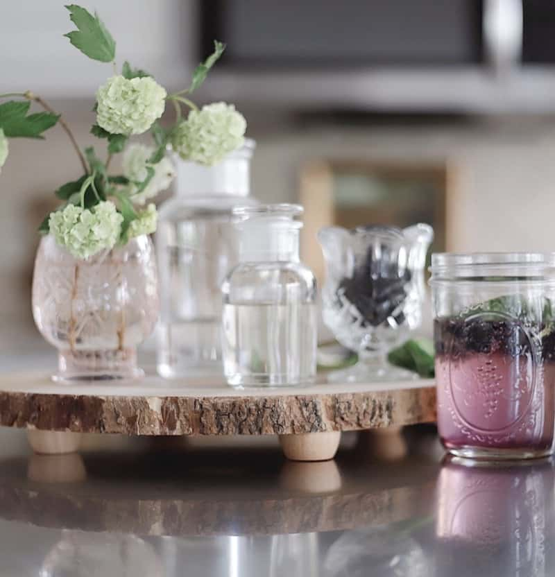 Simple Mint-Berry Spritzer Recipe
