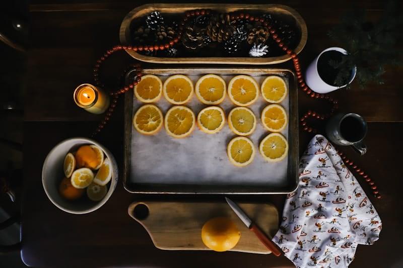 Easy DIY | How to Make Dried Orange Ornaments