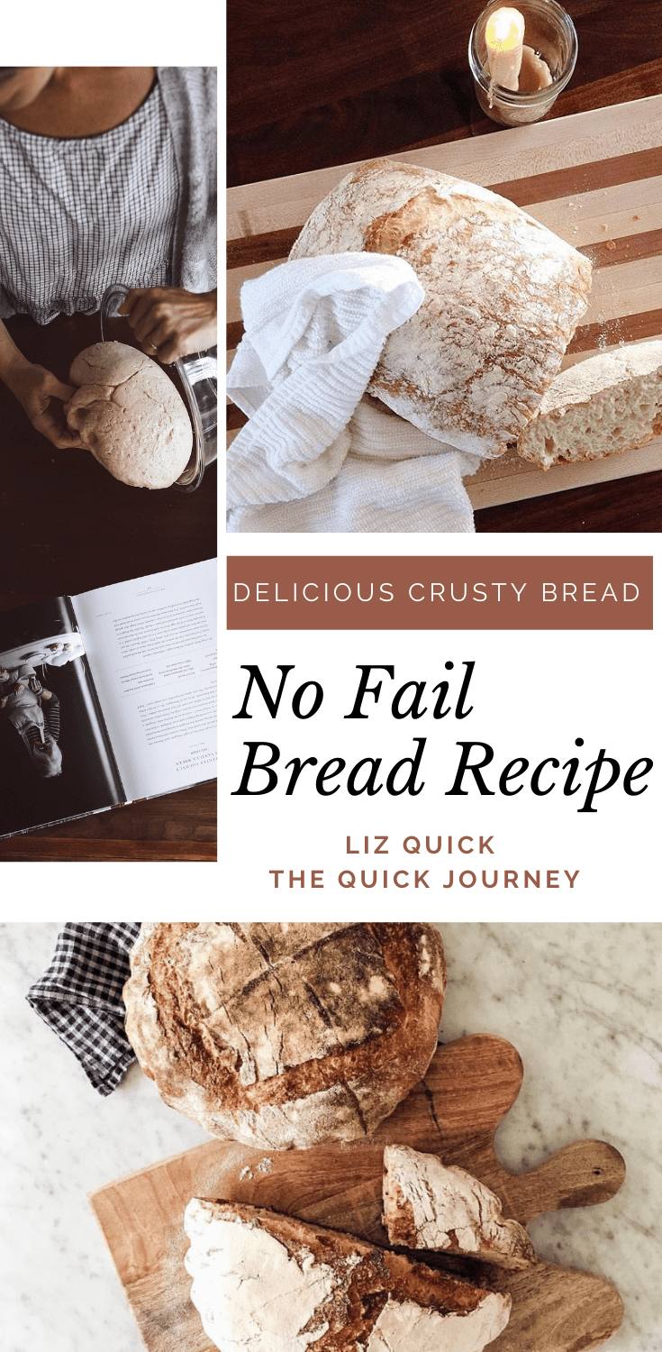 No fail crusty bread recipe for beginners