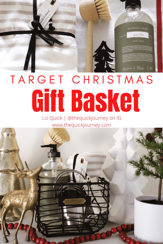 Target Christmas Gift Basket idea