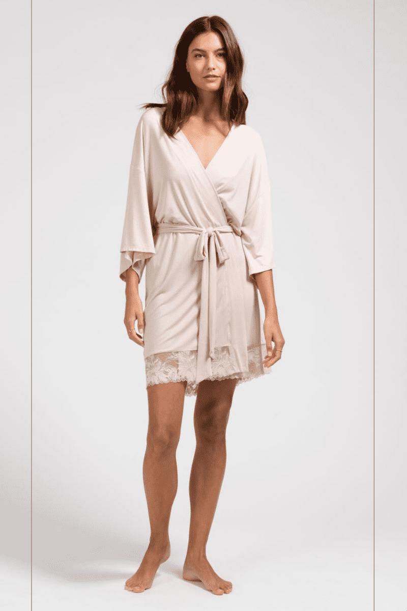 eberjey rosalie dressing gown