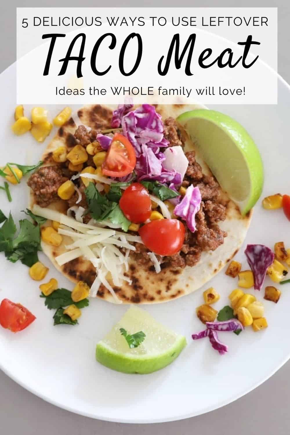 delicious ways to use leftover taco meat the whole family will love