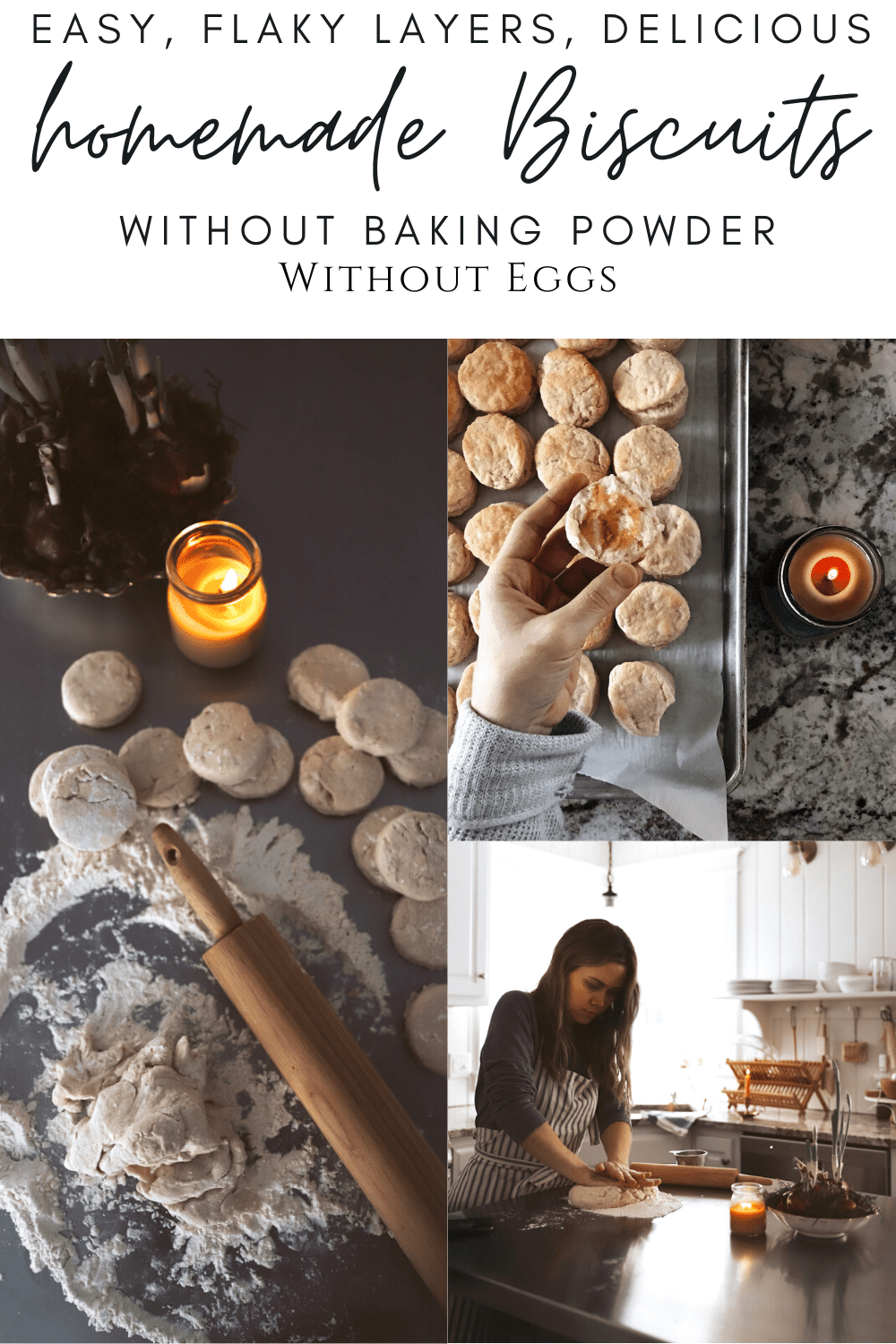 biscuits without baking powder without eggs