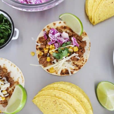 taco bar ideas for taco side dishes