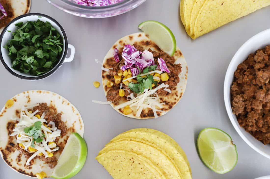 taco bar side dishes for a fun taco tuesday