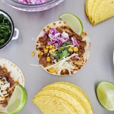 taco bar side dishes