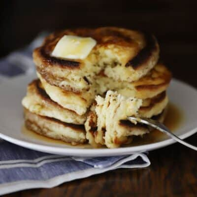 fluffy pancakes without buttermilk