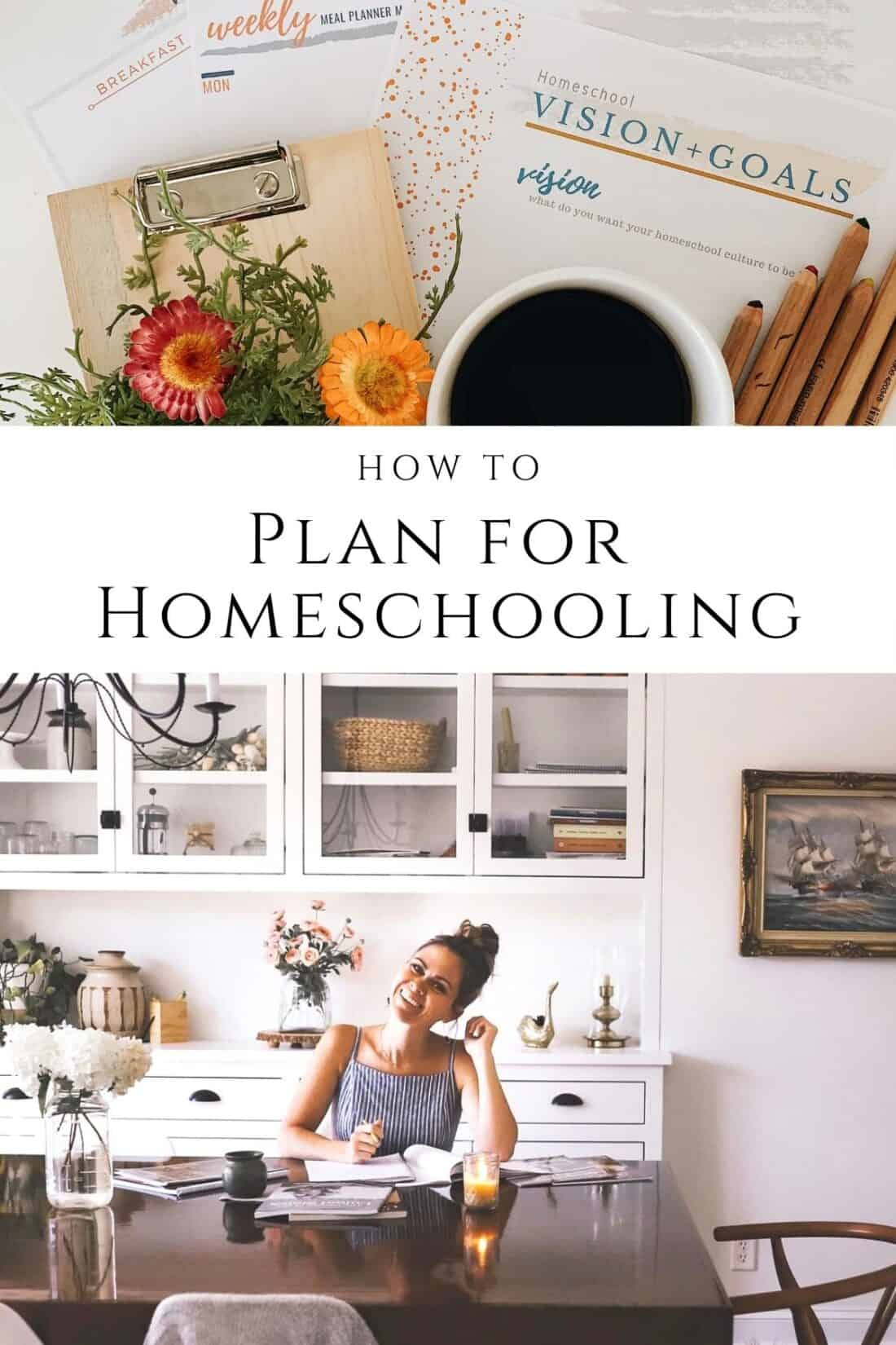 how to plan for homeschooling tips and tricks