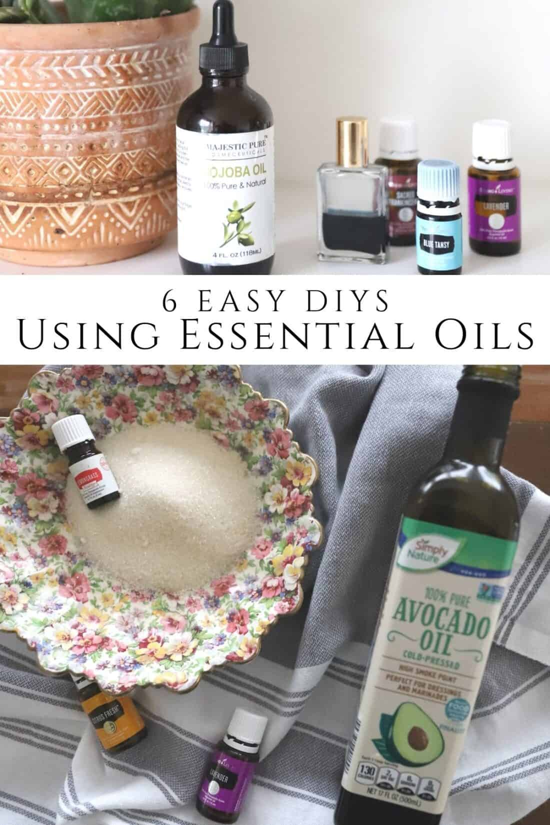 6 easy essential oil diys