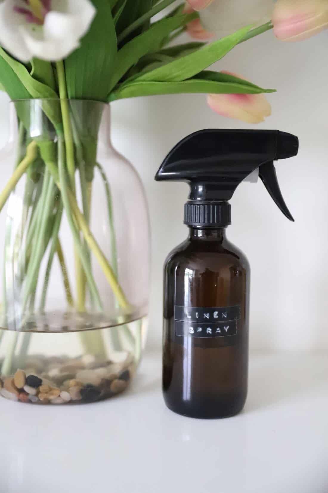 homemade linen spray