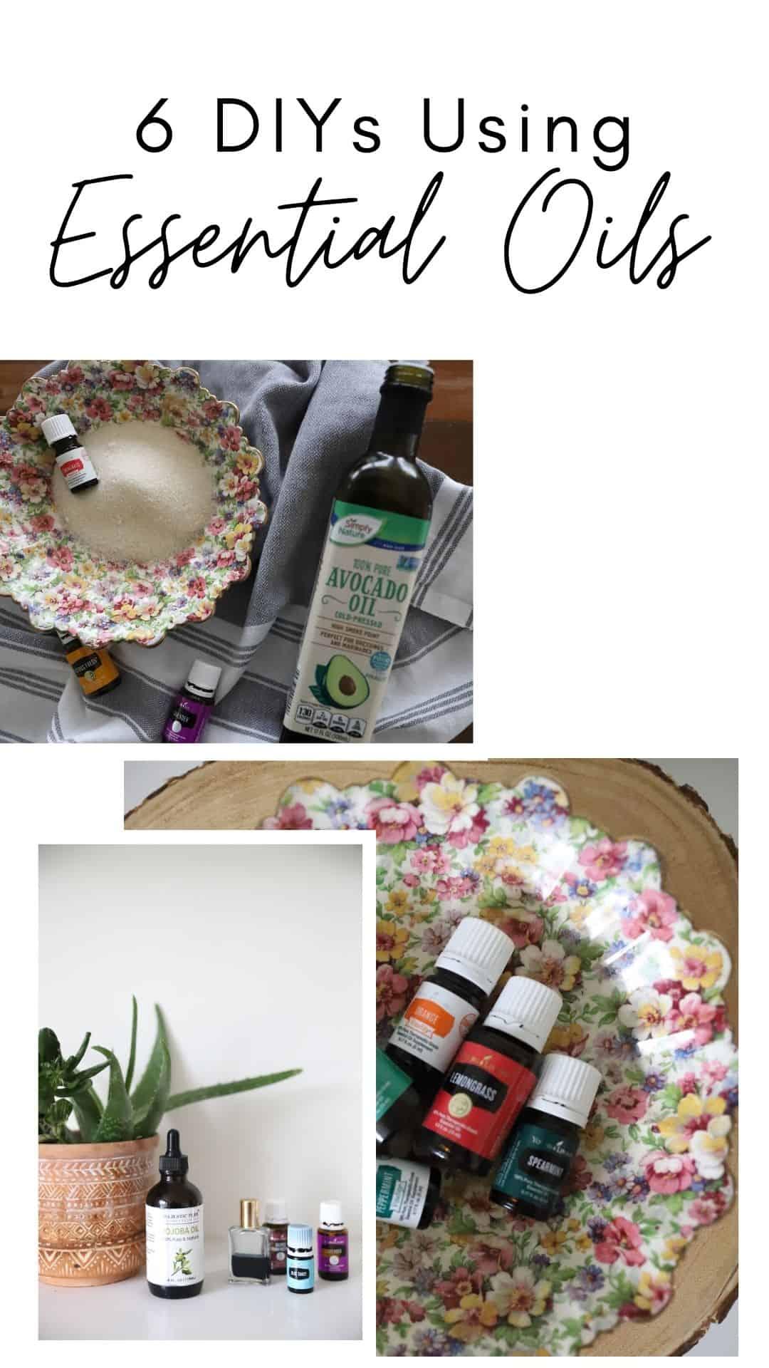 diy essential oil diys simple easy