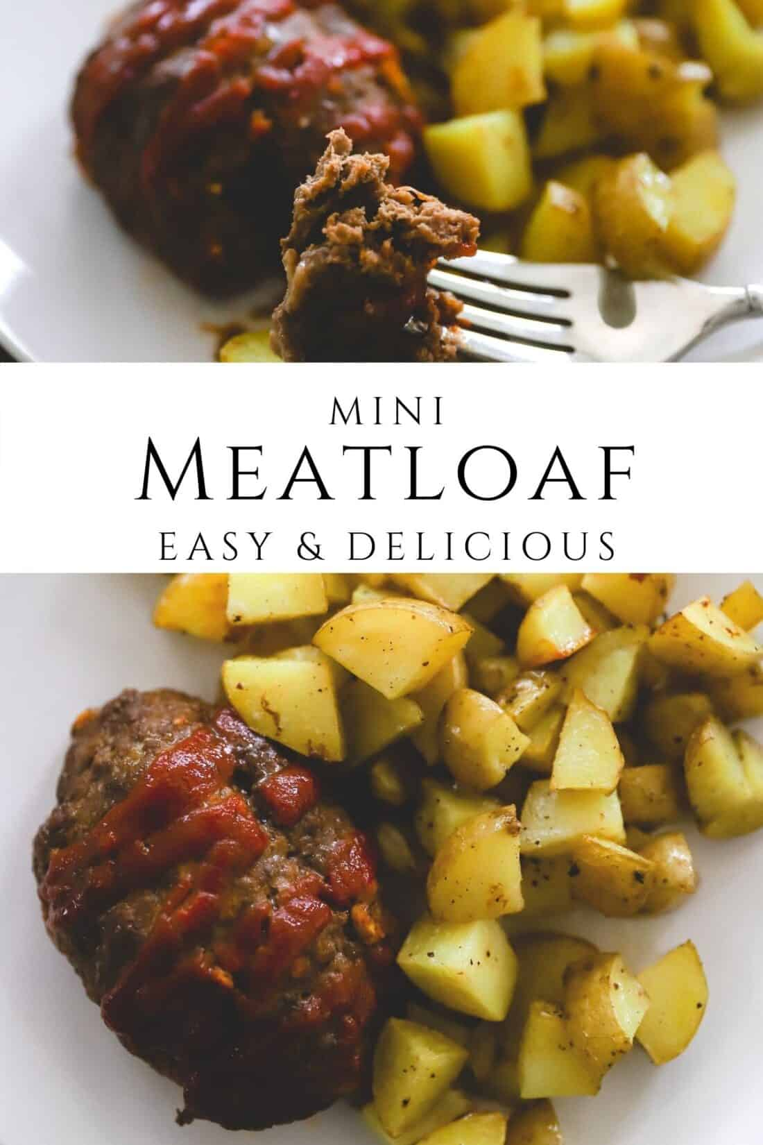 how to make mini meatloaves simply and quickly