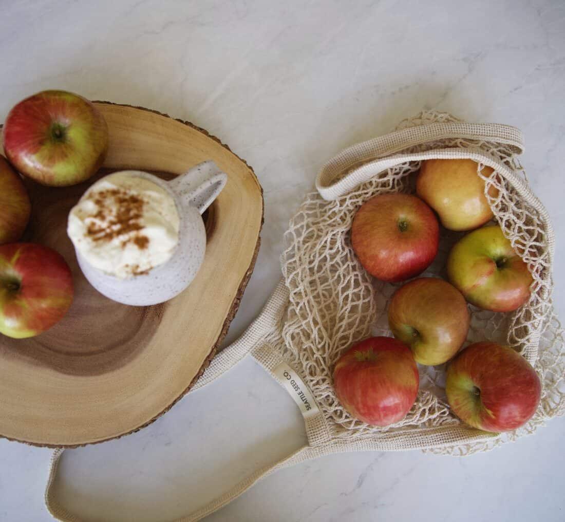 simple apple galette or tart for autumn