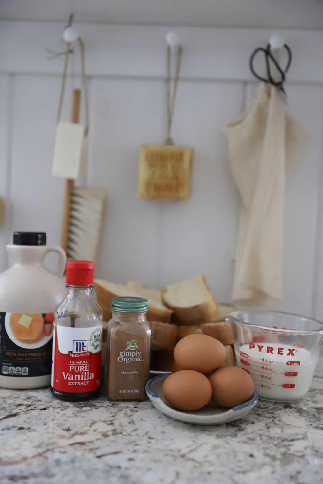 ingredients needed for french toast from scratch