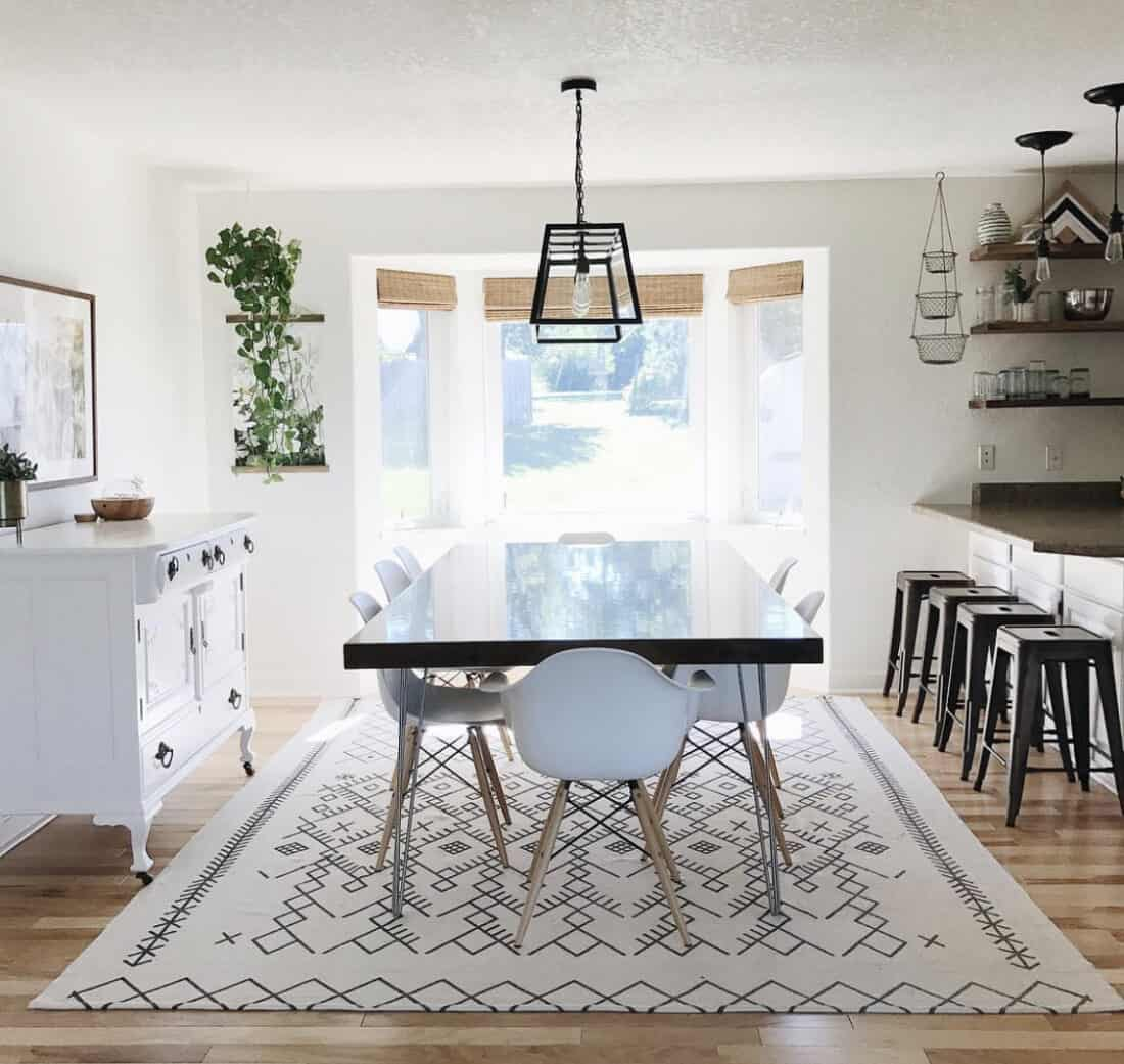 using your kitchen as a homeschool room
