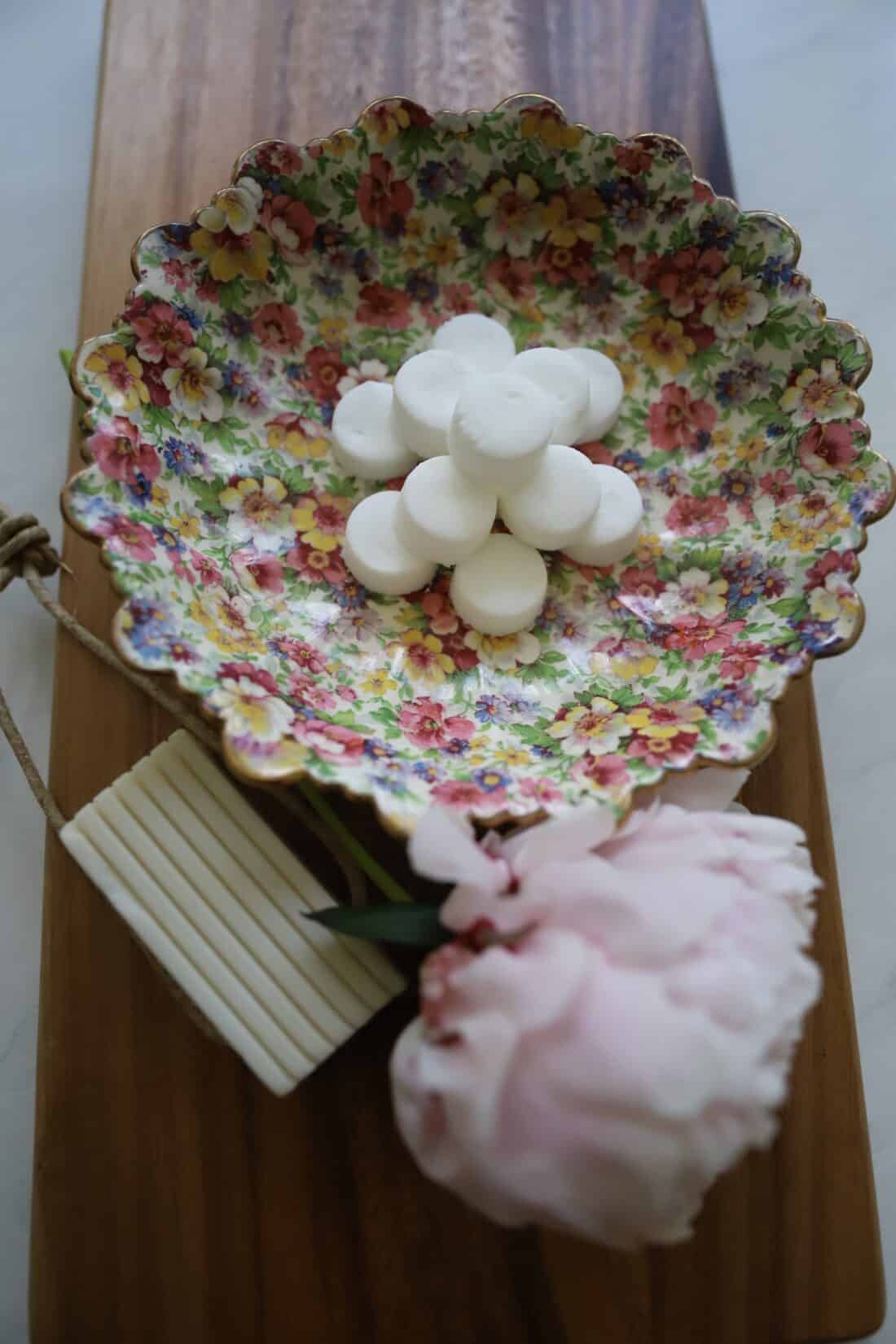 diy shower steamers with essential oils