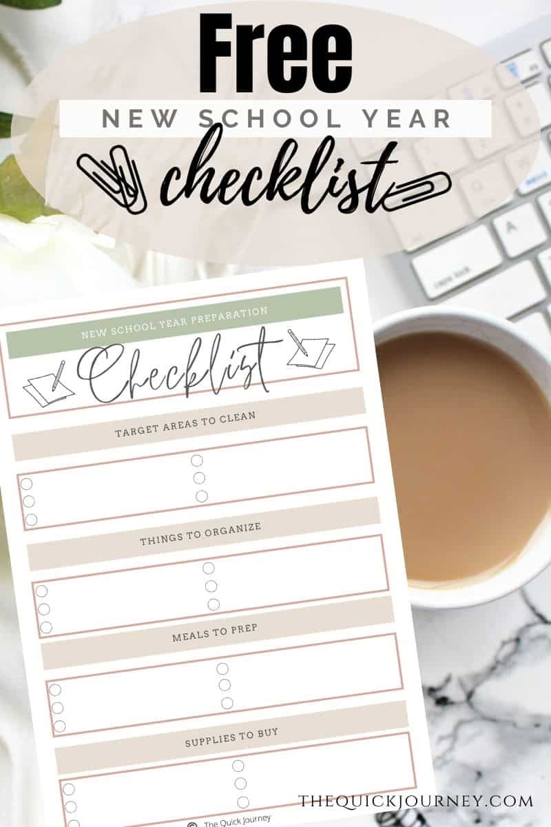 Get Ready for a New Homeschool Year printable for free