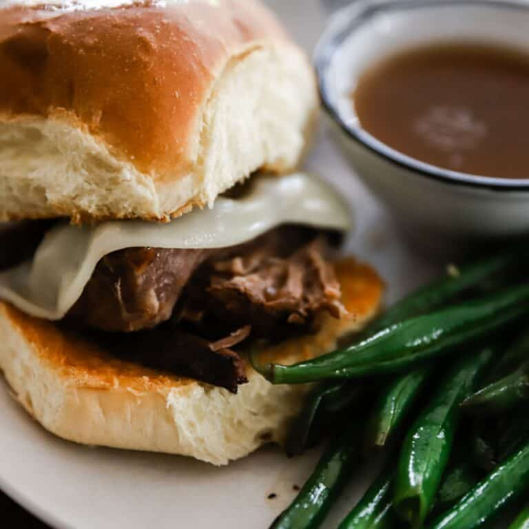 Easiest French Dip Sandwich Recipe with Beef Roast