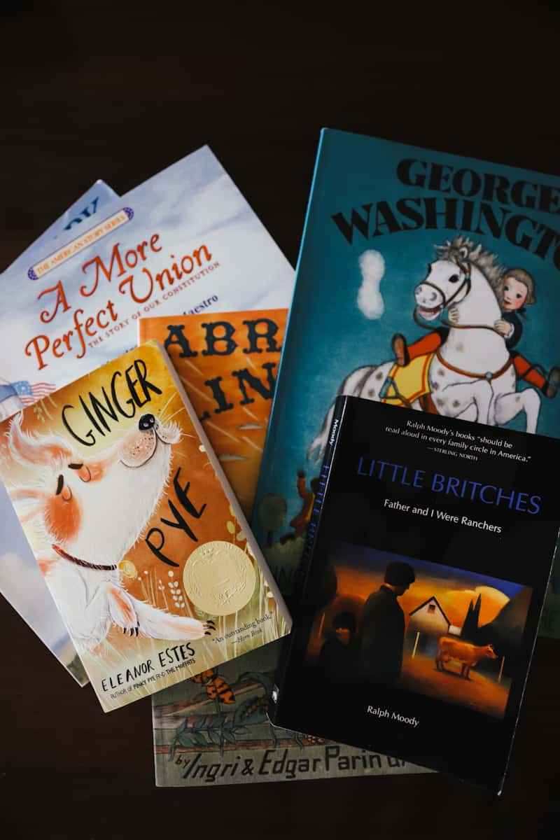 books for morning basket time read alouds